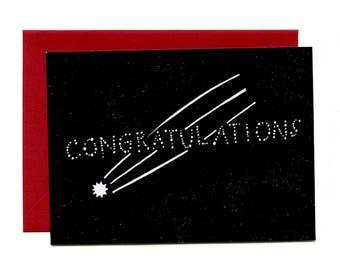 Congratulations (Flat Notecard)