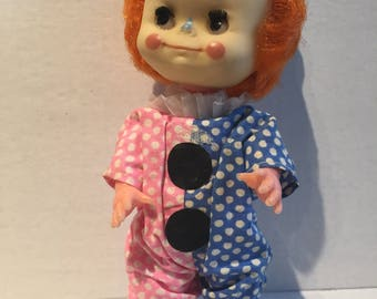 Vintage 1960's Clown Doll