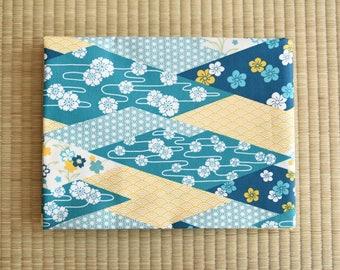 Japan flower kimono Fabric for 1/2 yard