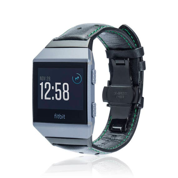 Fitbit Ionic Band - SPOT - more colors available - stainless steel and leather