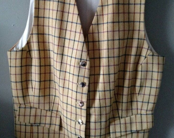 Ladies Foxley Brand Tattersal Foxhunting Vest
