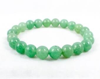 Men's Aventurine Bracelet | Beaded Bracelet | Chakra Bracelet | Healing Bracelet | Metaphysical | Reiki
