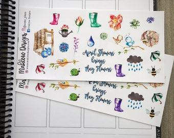 Spring Sampler Stickers
