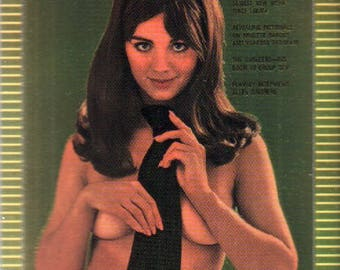 MATURE - Playboy Trading Card Chromium Cover Cards III - #229 April 1969