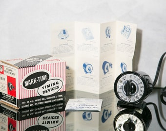 Mark Time Photographic Time Switch 78174 - Marktime Darkroom Timer in Original Box