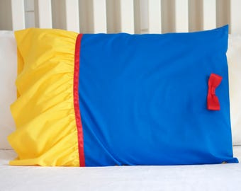 Snow White Princess Pillowcase