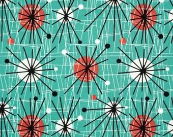 Atomic Sunburst / custom fabric