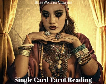 Medicine Woman Tarot Single Card Reading