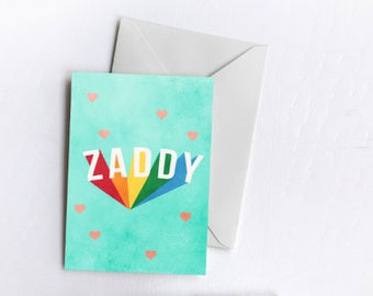 ZADDY! | Greetings Card