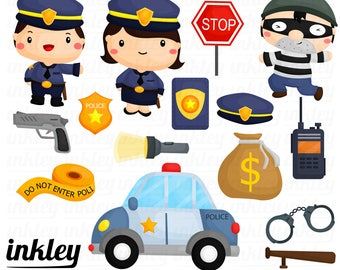 Police Car Clipart Etsy