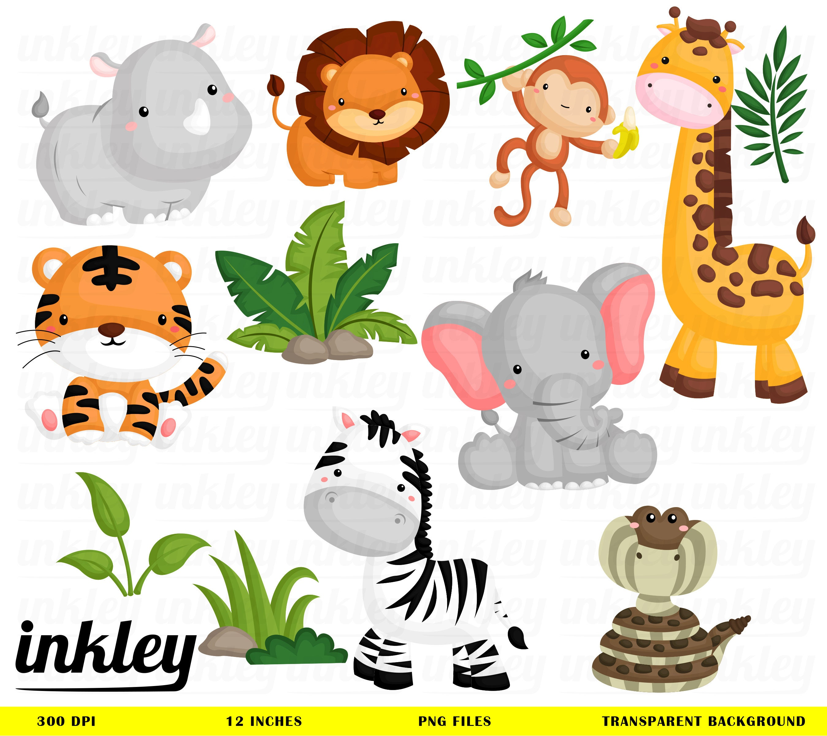 Jungle Animal ClipartJungle Clip Art Jungle Animal Png