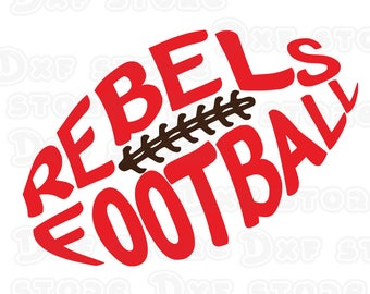 Rebels,Rebel,ole miss,ole miss svg, Football design SVG,DXF,PNG for use with  Silhouette Studio and Cricut Design Space