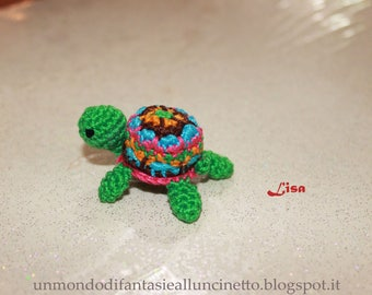 Baby turtle crochet