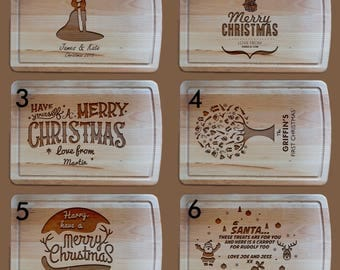 Heavy Christmas Chopping Board