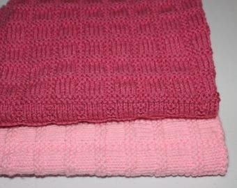 Doll Blanket,Hand knitted Doll Blanket,Doll,18 inch Doll Blanket,Baby Doll Blanket