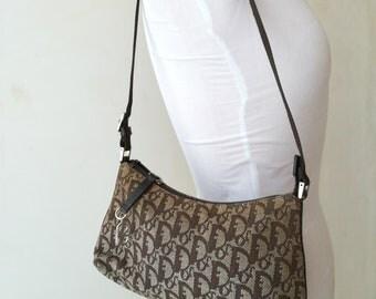 Praksmita Dior, Vintage canvas bag