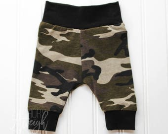 Camo Cuff Leggings