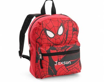 Personalized Spiderman Mini Backpack - 12""