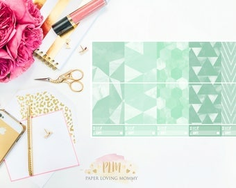 March Full Box Stickers | Planner Stickers designed for use with the Erin Condren Life Planner
