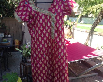 VINTAGE SILK INDIAN DRESs