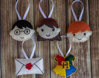 Harry Potter Inspired Ornament Sets