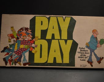 Vintage 1975 Parker Brothers Pay Day Game No. 32