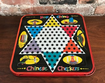 Chinese Checkers Game - Metal Game Board