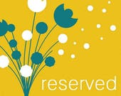 Reserved for Stephanie Fisher