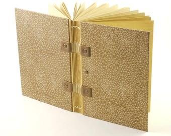 Très beau carnet de voyage original, format A6, cadeau de Noël pour aventuriers, journal, journal intime, carnet de notes, reliure copte