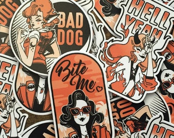 Monster Girl Stickers