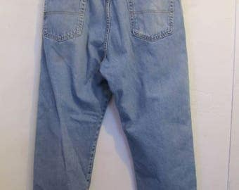 Men's,Vintage 90's FADED Blue,REGULAR Fit Jeans By DOUBLE KN0T By Reed.36x28