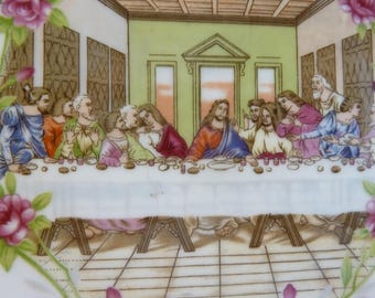 """Collector's Plate, """"The Lord's Supper"""",1 Corinthians 11:17-34, Lungenes Japan Sticker"""