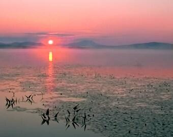 Raquette Lake, Sunrise, Sunrise Photograph, Adirondack Mountains, Adirondack Sunrise, Adirondack Photo, Adirondack Park, Mountain Photo