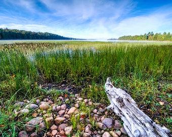 Adirondack Lake, Little Tupper, Fine Art Photography, Adirondack Decor, Home Decor, Landscape Photograph, Adirondack Mountain, Fine Art