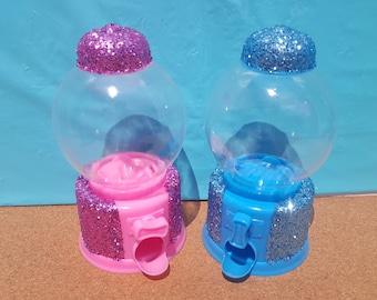 Glitter Candy Dispenser, Baby Shower Decorations, Baby Shower Center Piece, Baby Shower Game
