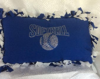 Sports Pillow ,Softball ,Handmade