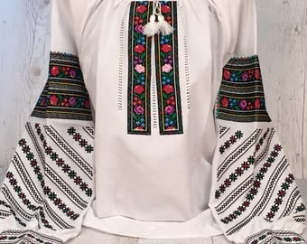 Embroidered Blouse Vyshyvanka, Ukrainian Vyshyvanka