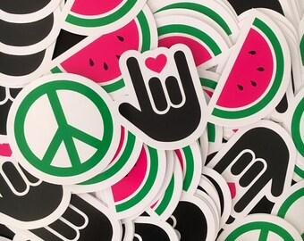 Peace, Love & Watermelon