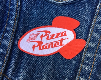 SALE! | Iron-on Patches |  Pizza Planet