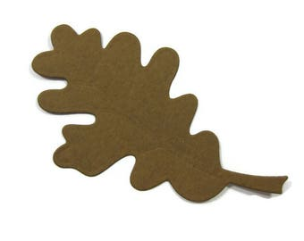 Large Oak Leaf Die Cut Set of 20