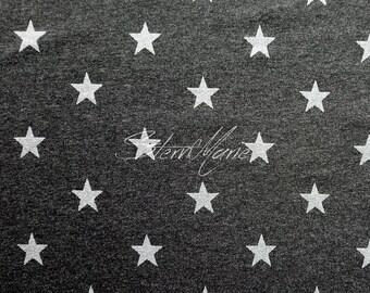 Jersey Magic Stars-Anthracite Melange