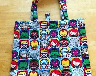 Marvel reusable fabric bag