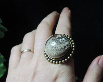 """""""Sands of Time - multiple edition"""" steampunk ring"""