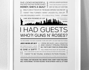 FIRST WIVES CLUB Typography Print