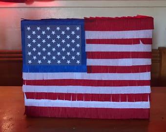 American flag pinata / 4th of july pinata