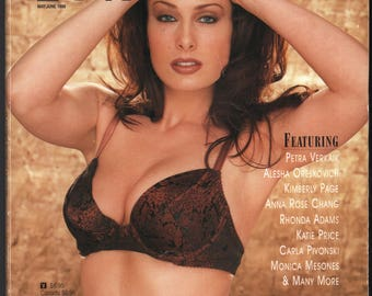 Mature Vintage Playboy Special Edition Mens Girlie Pinup Magazine : Playboy's Book Of Lingerie May/June 1998