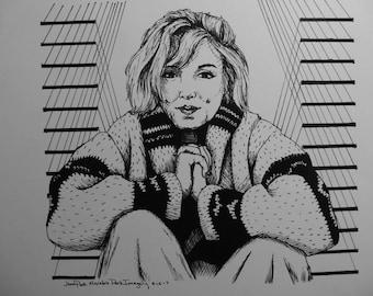 Monroe's Sweater