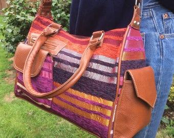 Fantastic hand made colourful Moroccan shoulder bag/ hand bag