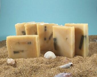 Green Clay Soap / Acne Soap, Mini Soap, Tea Tree Soap, Essential Oil Soap, Guest Soap, Face Soap, Oily Skin Soap