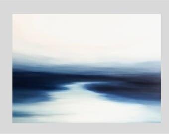 Ocean Painting, Seascape art, Coastal art, Painting on canvas, Tropical decor, Beach Art, Abstract Ocean art, Acrylic Painting, Modern art,